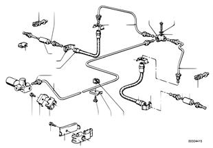 Bremsleitung hinten