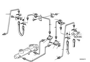 Przewód hamulcowy przedni