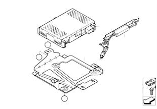 IBOC-ontvangermodule/IBOC-splitter