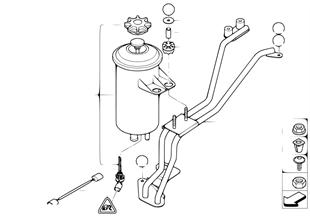 Zbiornik oleju/elem. poj./Dynamic Drive