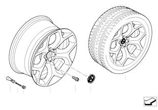 BMW경합금휠,Y-스포크 214