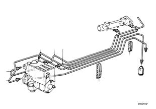 Bremsleitung vorne ABS