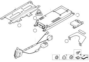 Single parts, SA 630, trunk