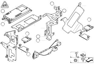 Επιμέρ.εξαρτήματα SA 630 χώρος αποσκευών