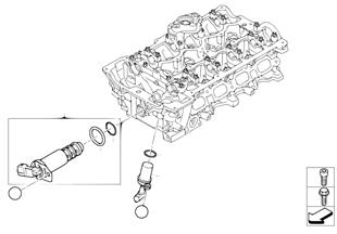 氣缸蓋 電動安裝件