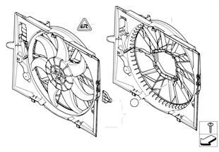 Marco del ventilador/ventilador
