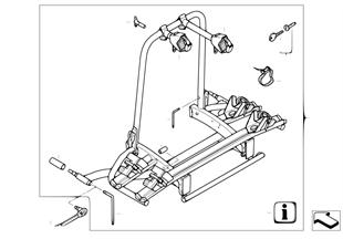 Střešní nosič/přepr. systémy zadní nosič
