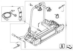 Šroubovací zadní nosič ECE