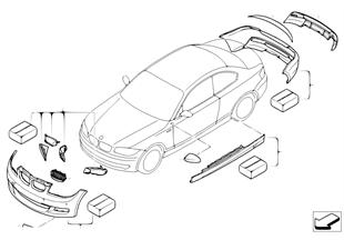 Аэродинамический к-т BMW Performance