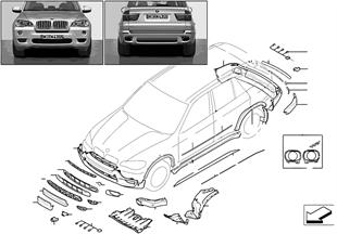 Dodatečná montáž M aerodynamický paket