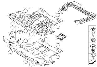 Protection de compartiment moteur