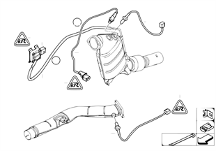 Dieselroetfiltersensoren/aanbouwdelen