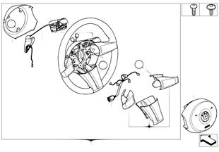 스포츠조향휠 에어백, 패들 포함