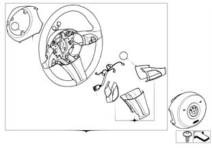 스포츠 스티어링휠,에어백,다기능