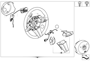 스포츠조향휠, 에어백, 다기능/ 패들