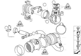 Dodatkowa przepustnica powietrza/ASC
