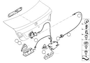 Kofferdeksel/slotsysteem