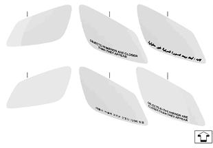 Vetro specchietto (S430A)