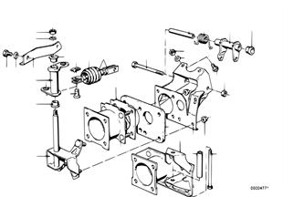 Pedal düzeneği/yönlendirme demirleri