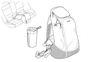 雜物袋 後座區