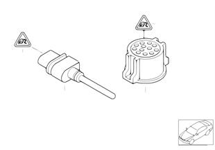 Temperature sensor, gong
