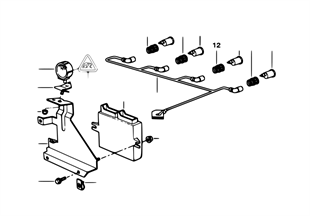 Système d'aide au stationnement (PDC)
