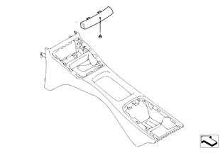 Individual κάλυμμα κονσόλας πίσω χώρου