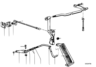 Διάταξη ελέγχ.γκαζ./μοχλικό σύστ.γκαζιού