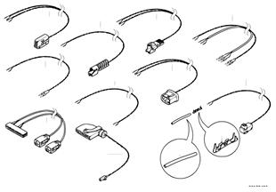 Repair cable, airbag