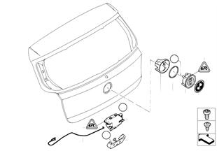 Bagaj kapağı/Kilitleme sistemi