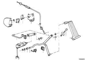 Gaz kelebeği kumandası/Pedal sezicisi