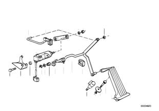 Gasbetätigung/Pedalwertgeber