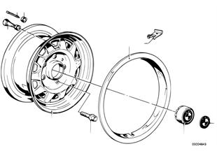 Diskové kolo ocel