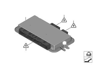 ECU, footwell module 3