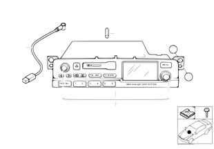 วิทยุระบบนำทาง BMW