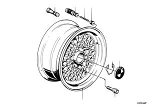 Diskové kolo lehký kov