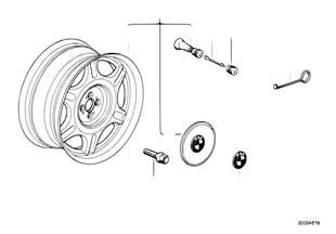 Sternspeichen-Styling (Styl.10)