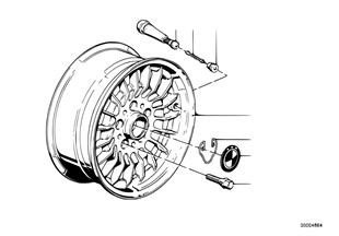 Scheibenrad LM geschmiedet Styl.TRX-1
