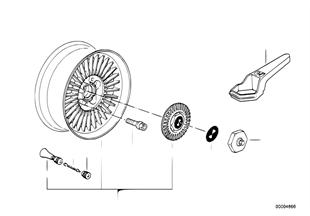 Styling ζάντας πολλαπλ. ακτίνων (Styl.4)