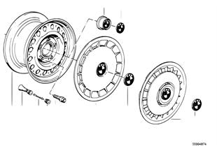 Scheibenrad Stahl Styl.1