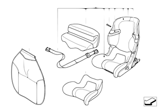 BMW Junior Seat I-II Isofix