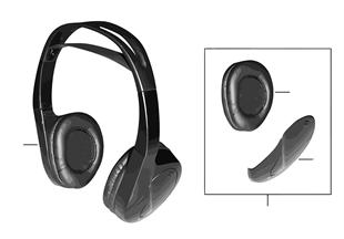 Słuchawki na podczerwień