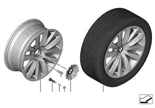 """BMW LM Rad Doppelspeiche 253 — 20"""""""