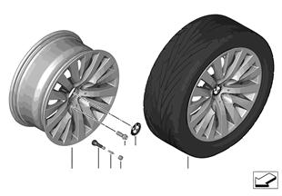 "BMW LM Rad V-Speiche 254 — 18"""