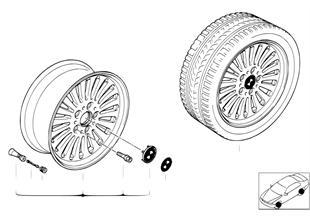 Speichen-Styling (Styl.33)