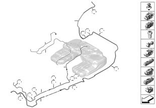 Palivová potrubí/upevňovací díly