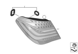 Fanale fiancata posteriore