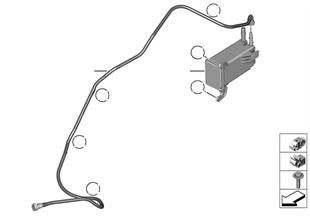Aktivkohlefilter/Kraftstoffentlüftung