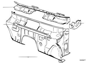 Детали щитка передка