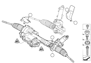 Steering unit, electric (EPS)